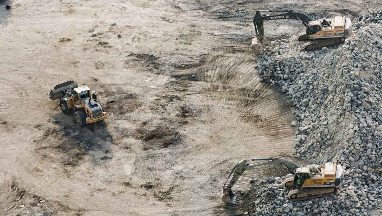 Baggerarbeiten Geotechnik berger