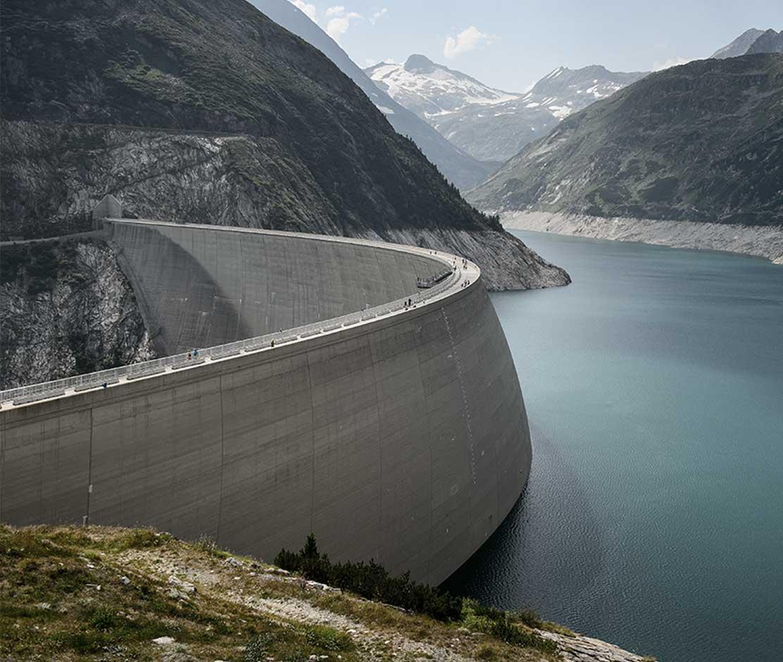 Wasserbau Berger Wasserkraftanlage